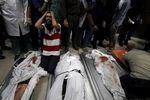 13 شهید و دهها زخمی در حملات شب گذشته به نوار غزه