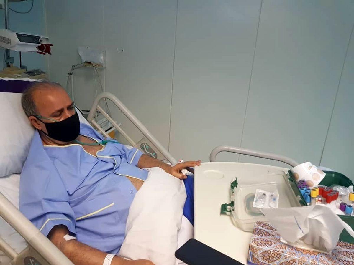 مهدی تاج در بیمارستان بستری شد