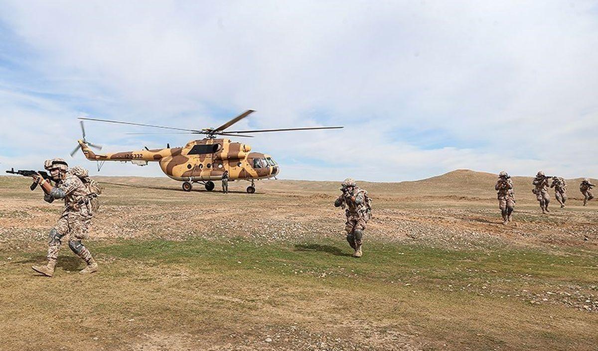 تصاویری دیدنی از رزمایش نیروی زمینی سپاه