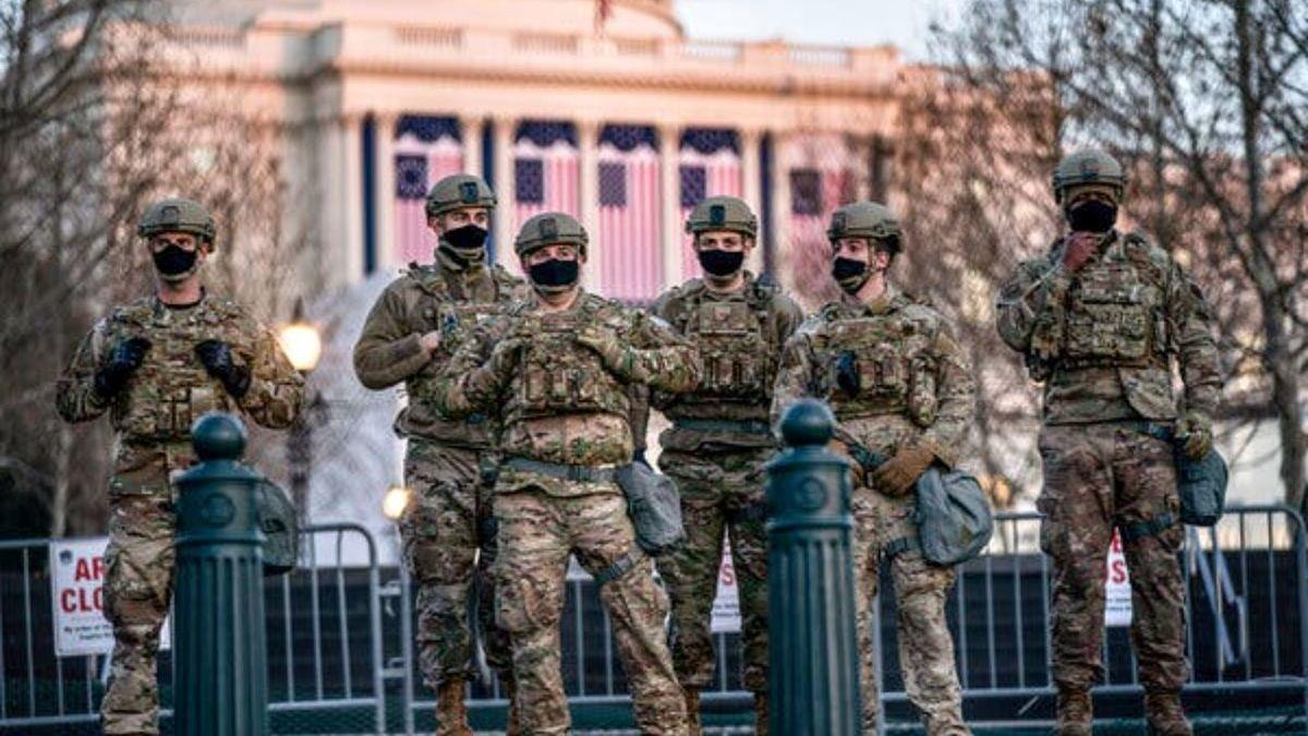 فیلم: موقعیت جدید سربازان در کنگره آمریکا !