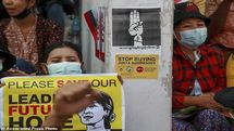 اعتراضات بیشتر در پی اعتصاب سراسری در میانمار