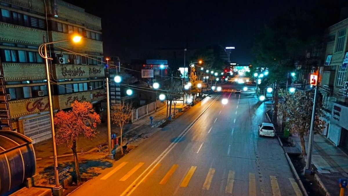 تدام ممنوعیت تردد شبانه در تمام شهرها
