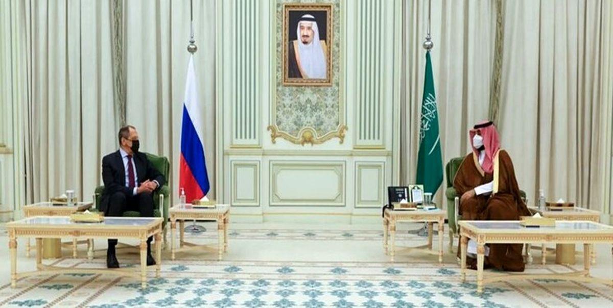 لاوروف در ریاض با ولیعهد عربستان سعودی دیدار کرد