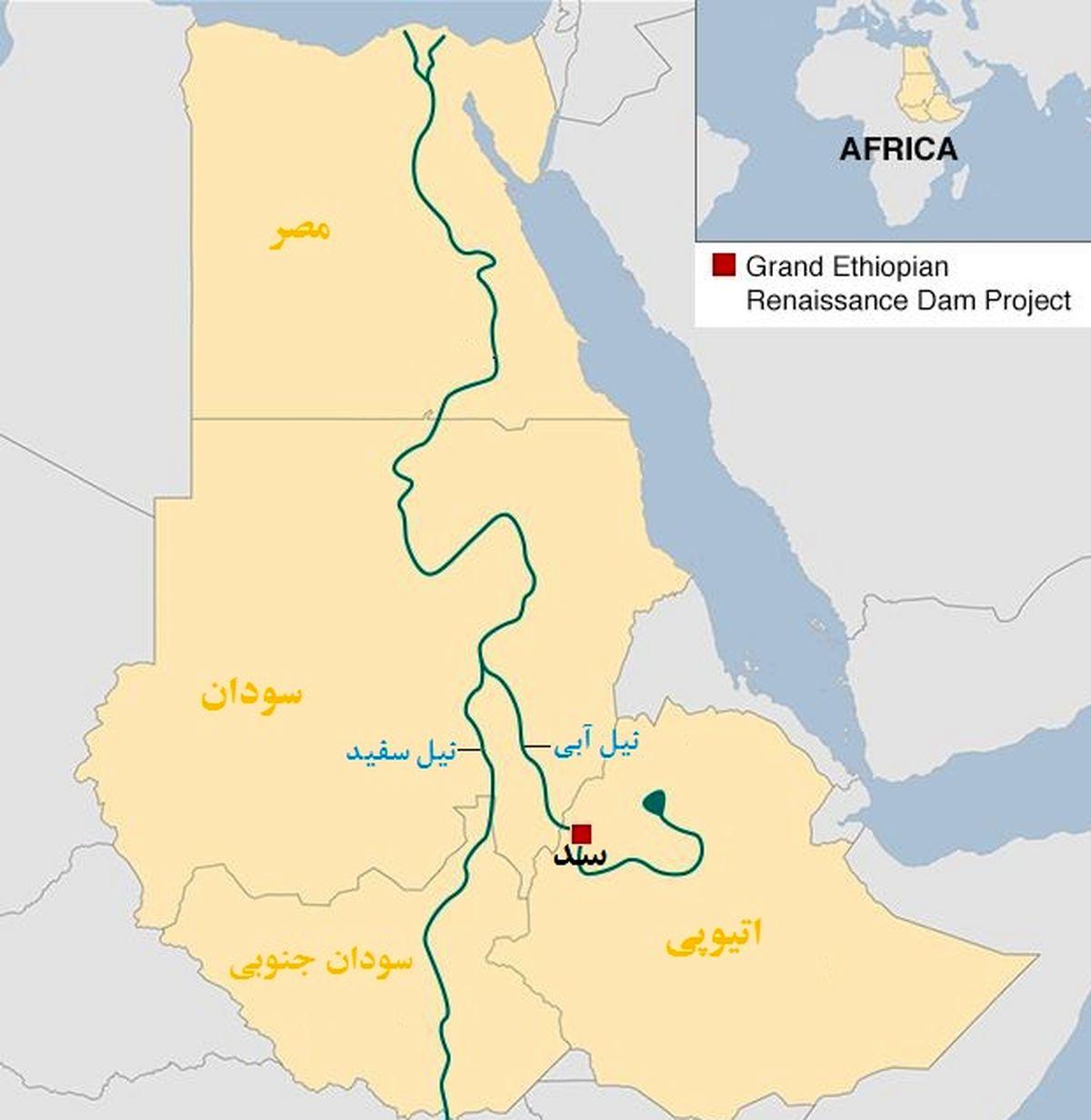 چشم امید مصر به «جو بایدن» برای حل پرونده سد النهضه