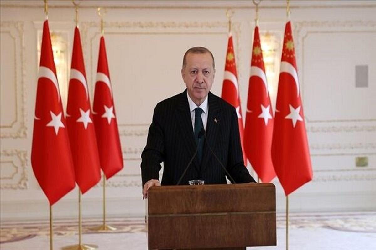 اردوغان: نمی توانید ترکیه را از معادلات مدیترانه شرقی حذف کنید
