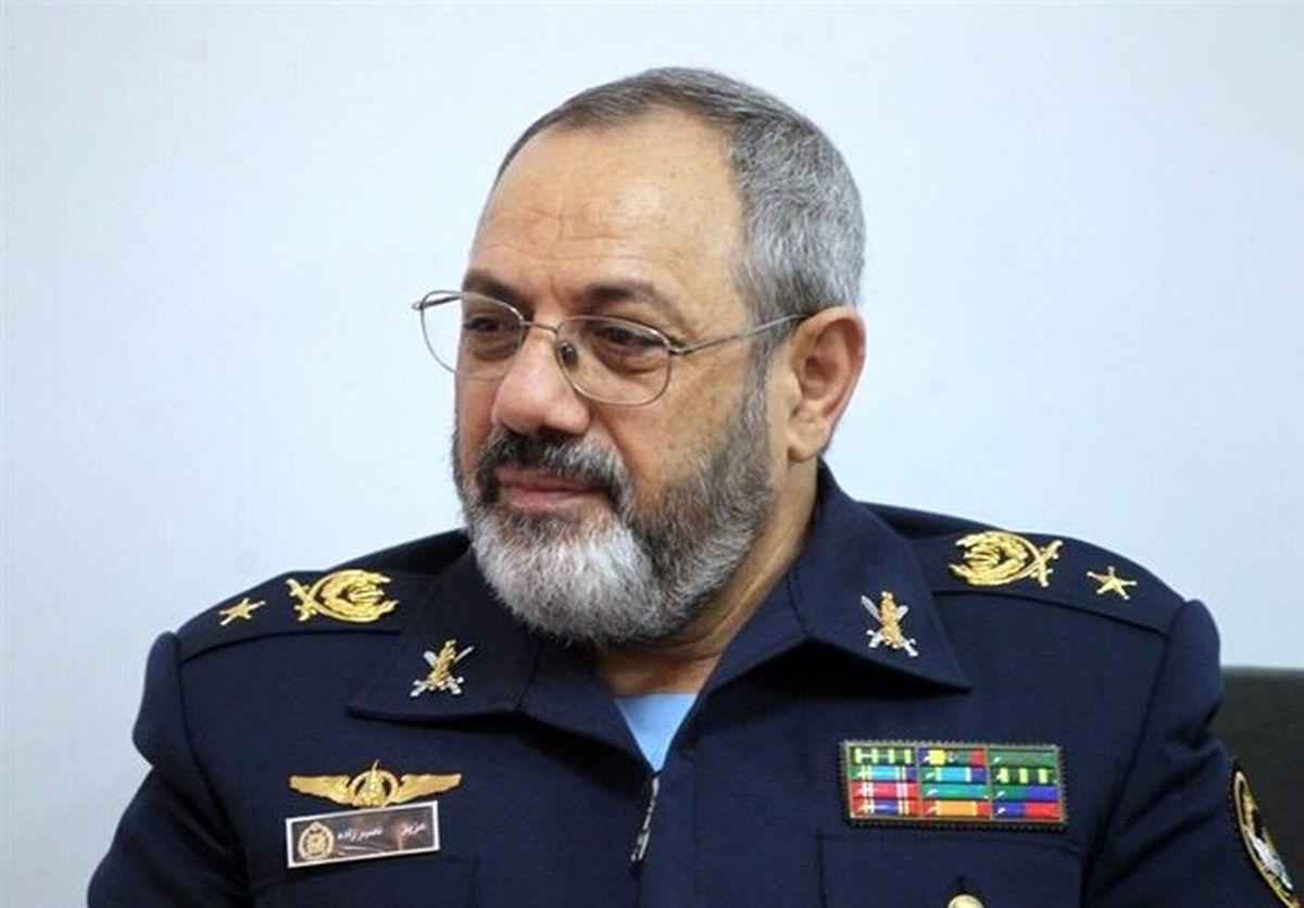 قدرشناسی فرمانده نیروی هوایی ارتش از فرمانده معظم کل قوا