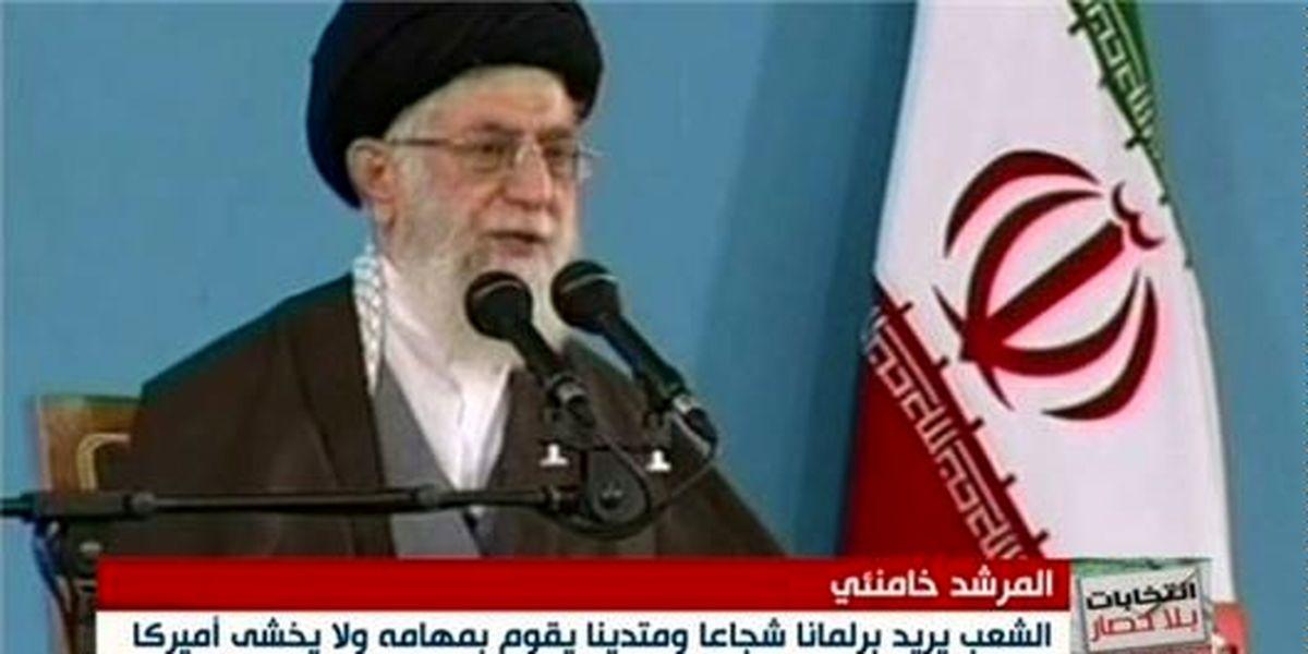 """توصیف جالب """"المیادین"""" درباره بیانات انتخاباتی رهبر ایران"""