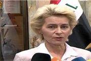 وزیر دفاع ایتالیا وارد اربیل عراق شد