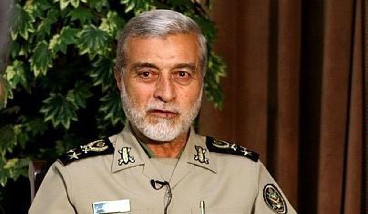 فرمانده کل ارتش از ابراز همدردی مسئولین کشوری و لشکری تشکر کرد