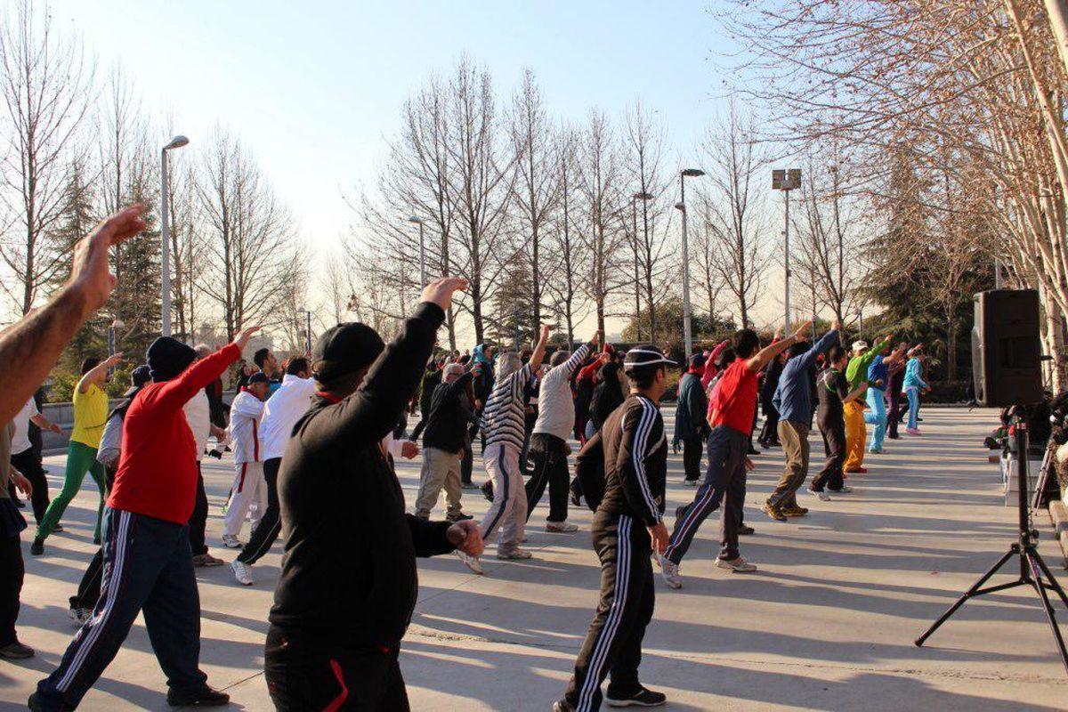 همایش بزرگ ورزشهای همگانی در پارک لاله