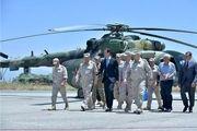 بازدید بشار اسد از پایگاه نظامی