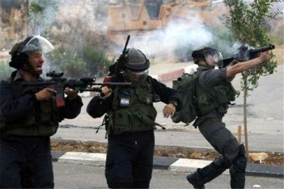 حمله نظامیان صهیونیست به فلسطینیان