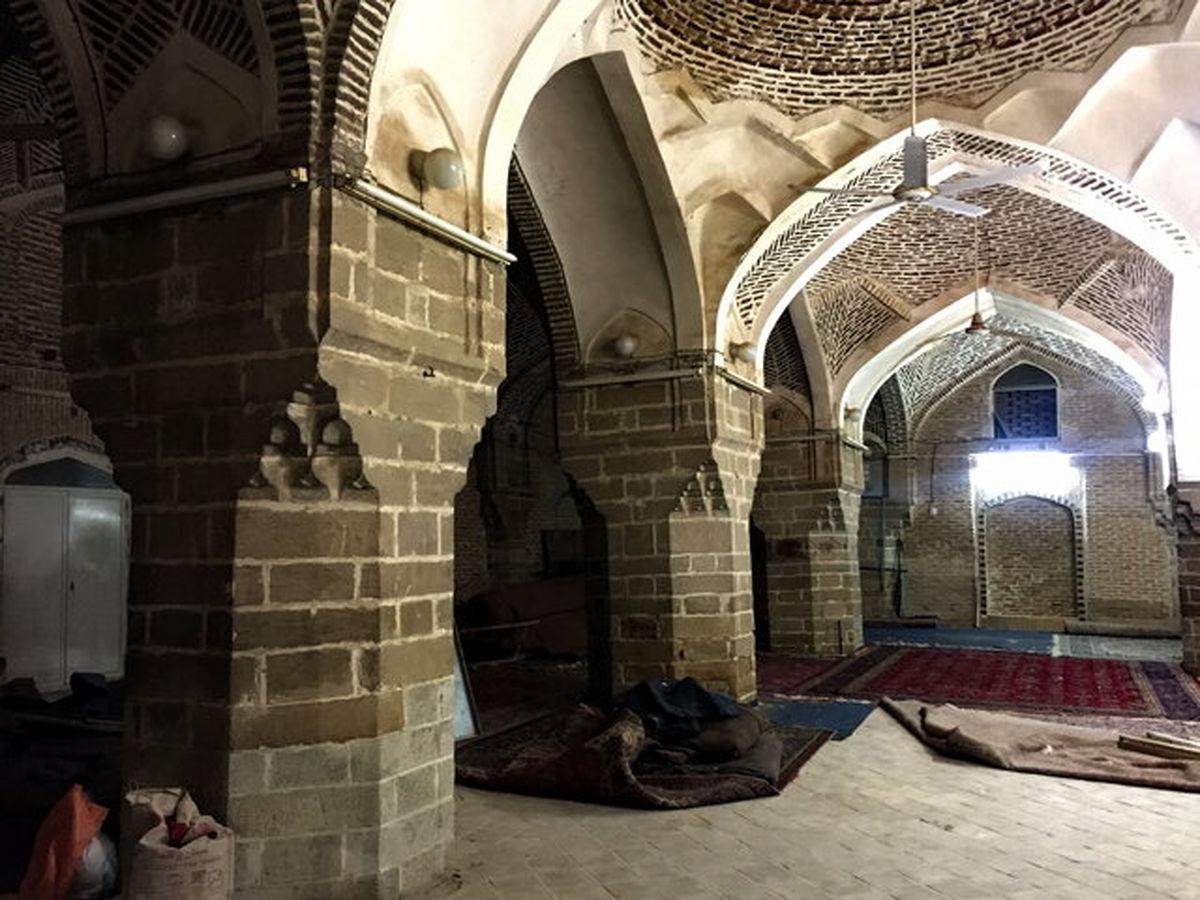 مسجد دزفول کج شده + عکس