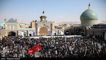 برگزاری مراسم سوگواری شهادت امام کاظم(ع) در آستان حضرت عبدالعظیم(ع)