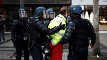 بازداشت دهها معترض در فرانسه در بیستمین شنبه اعتراضات