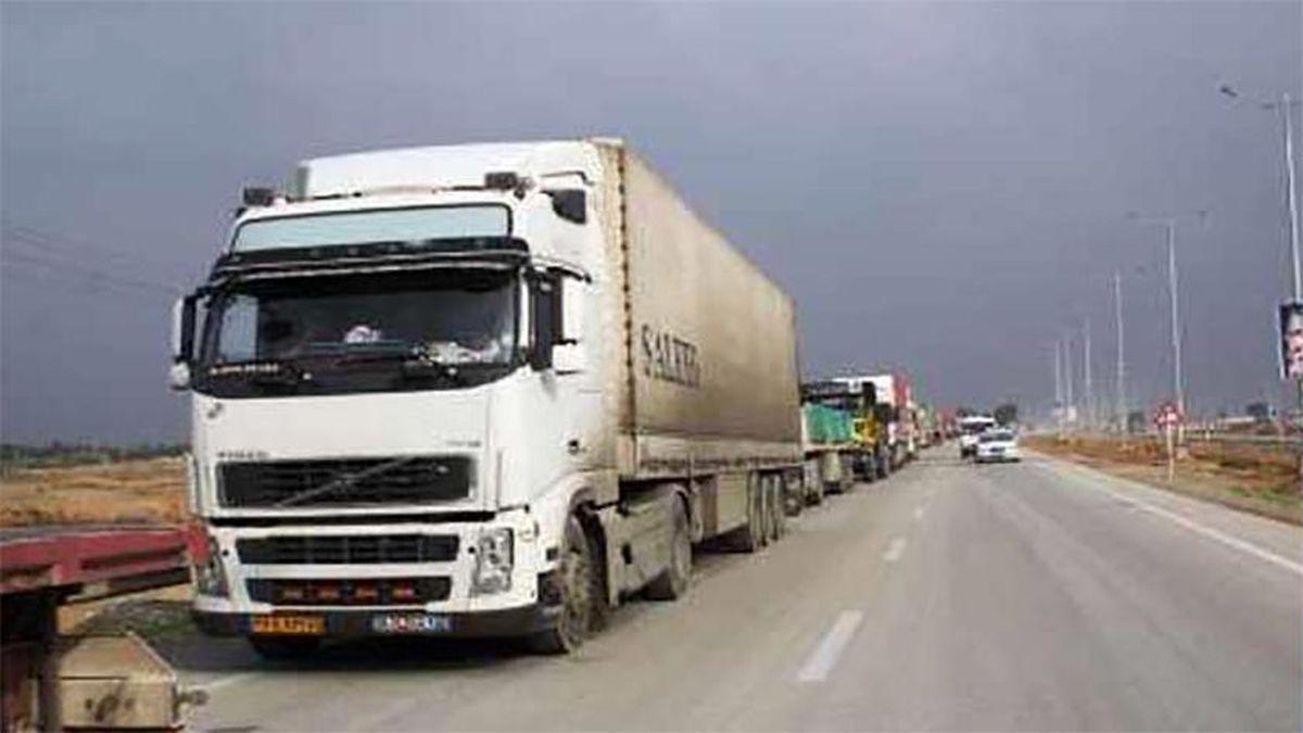 ورود کامیون به تهران تا اطلاع ثانوی ممنوع شد