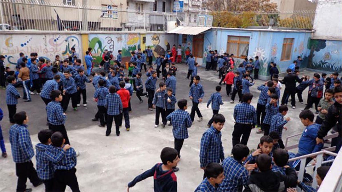 تمام مدارس تهران فردا دوشنبه دایر است