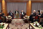 دیدار سخنگوی انصار الله یمن در مسقط با ظریف