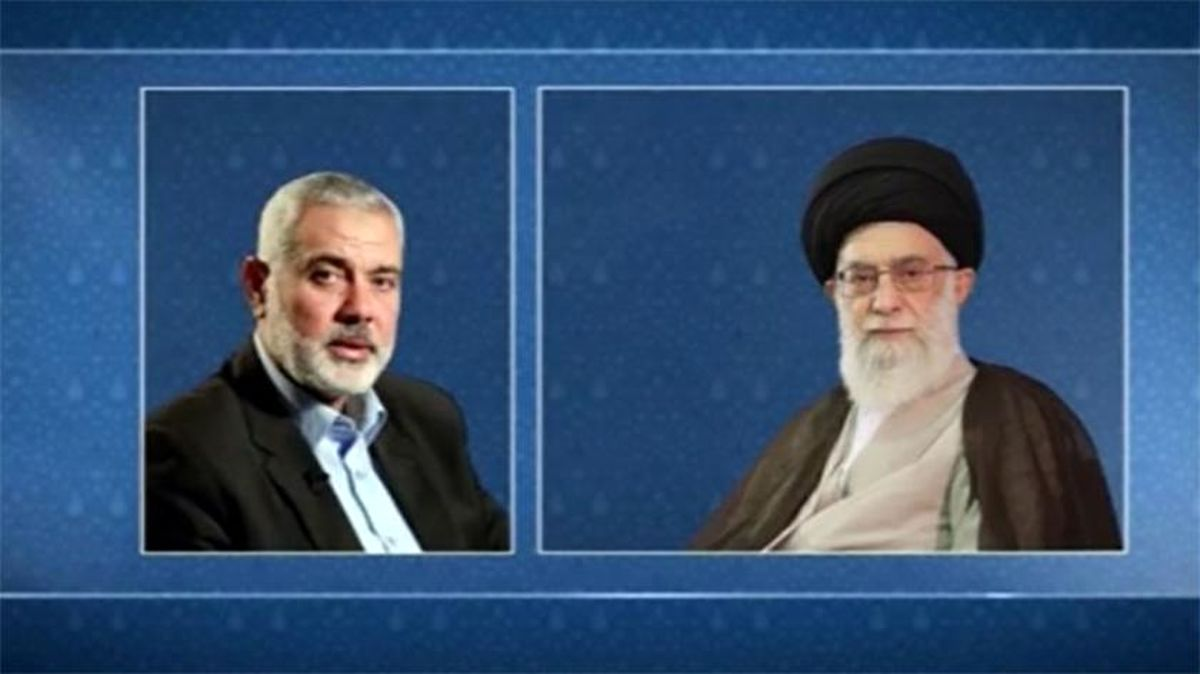 پیام اسماعیل هنیه به رهبرانقلاب درخصوص حوادث قدس