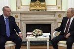 دیدار اردوغان و پویتن درباره آتشبس در ادلب سوریه