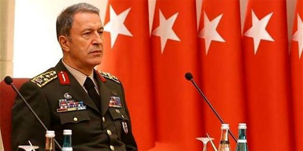 وزیر دفاع ترکیه: تاکنون آتشبس نقض نشده است