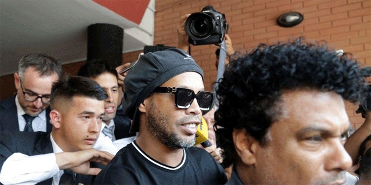 عکس: جادوگر فوتبال جهان در حبس