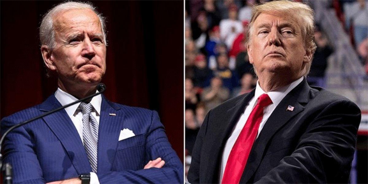 رقابت نزدیک بایدن و ترامپ برای ریاستجمهوری