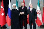 سوریه موضوع کنفرانس مجازی روسای جمهور ایران، روسیه و ترکیه