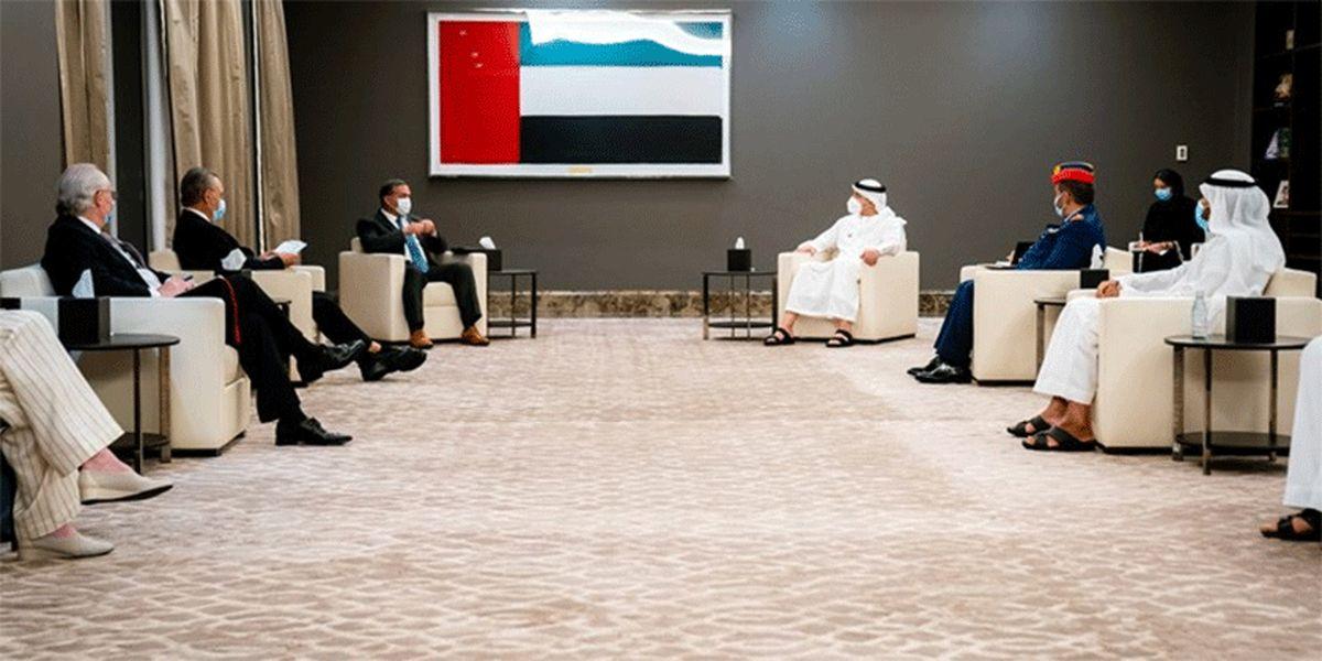 دیدار وزیر اماراتی با مقام آمریکایی با موضوعیت ایران