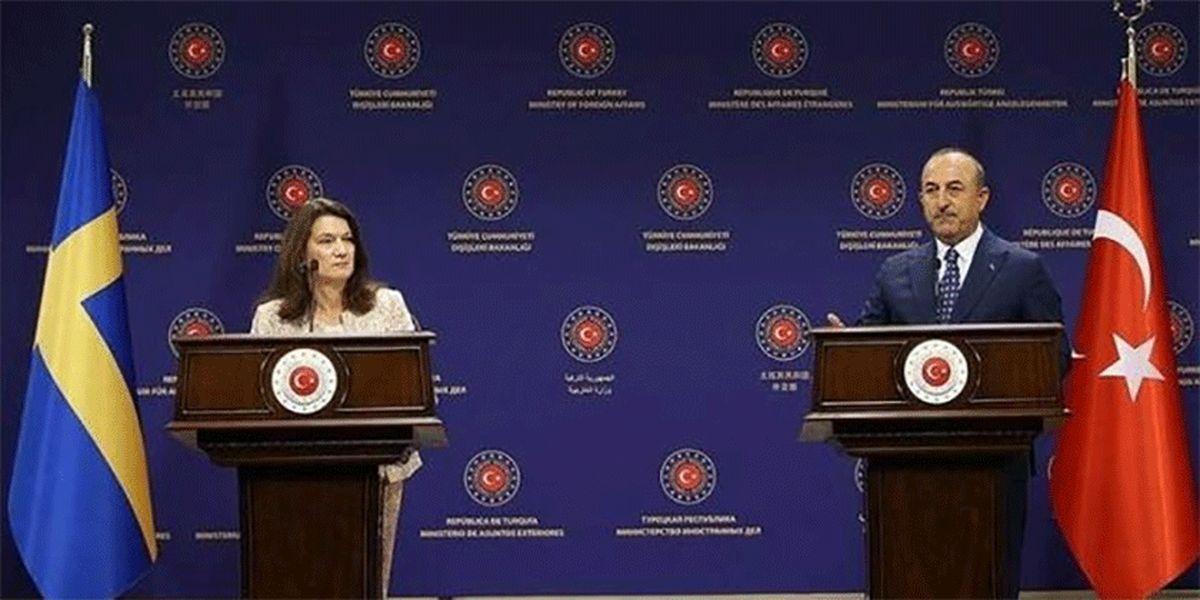 مشاجره لفظی وزرای خارجه ترکیه و سوئد بر سر سوریه