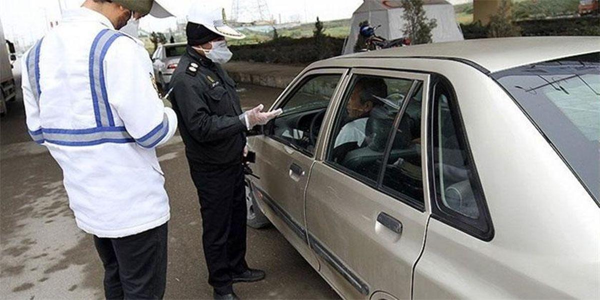 جریمه ۶ هزار خودرو به دلیل عدم استفاده از ماسک