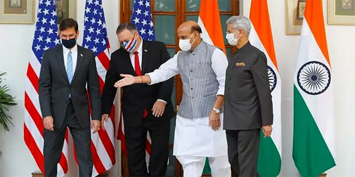 تلاش پامپئو بر وادار کردن هند برای دشمنی با چین