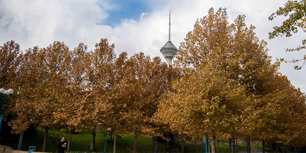 کیفیت هوای تهران در حد قابل قبول