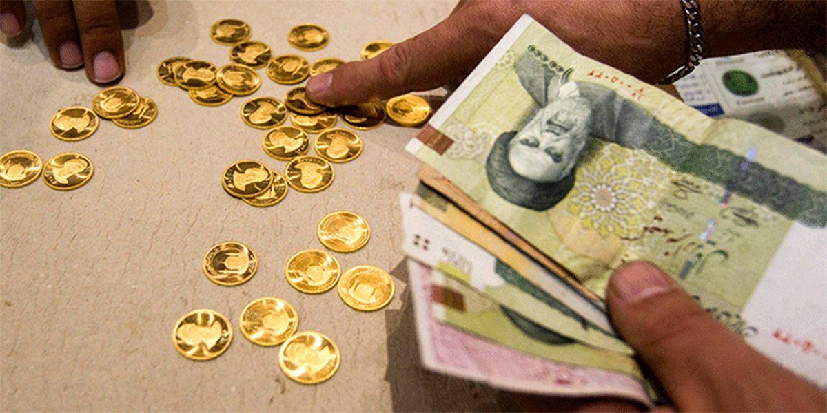 قیمت سکه به زیر ۱۳ میلیون تومان رسید