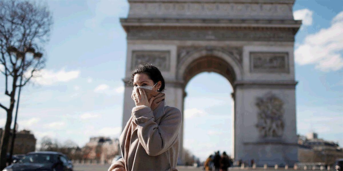 فرانسه اولین کشور اروپایی با بیش از ۲ میلیون مبتلا به کرونا
