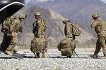 صف نظامیان آمریکاییِ در راه خانه!