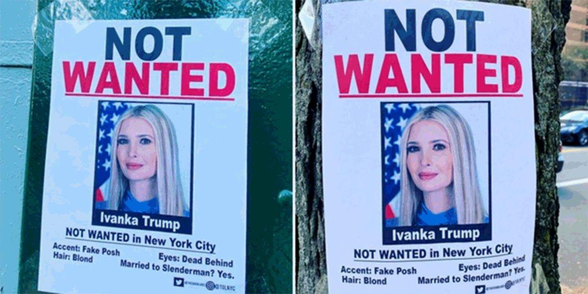 مشکل ایوانکا ترامپ برای بازگشت به وطن