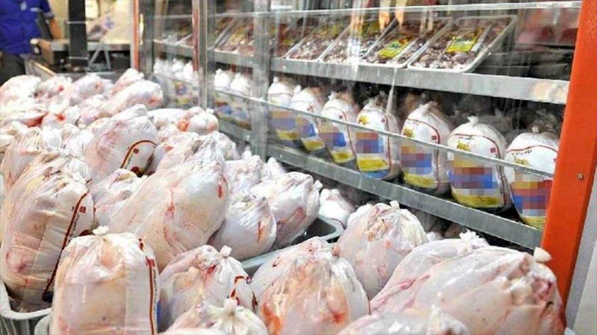 ۱۶۰۰ تن مرغ منجمد در تهران توزیع میشود