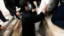 خادم در کنار بارگاه امام رضا(ع) به خاک سپرده شد