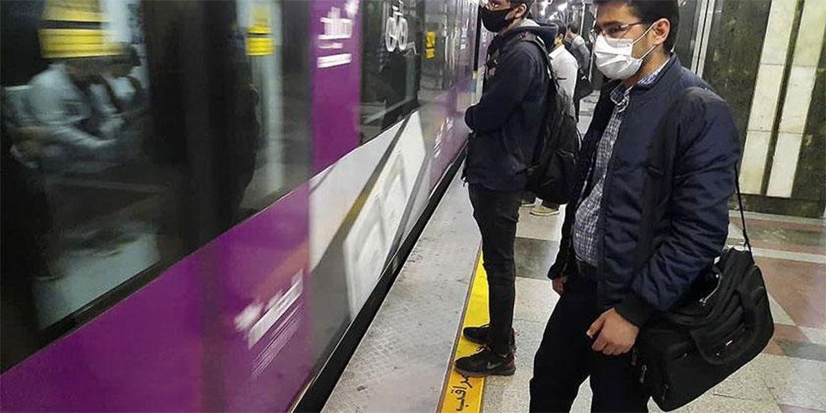 شناسایی افراد بدون ماسک در مترو با نرمافزار