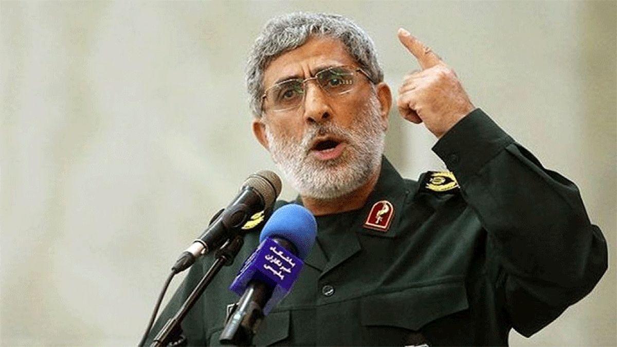 سردار قاآنی: دشمن عُرضه جنگ مردانه با ایران را ندارد