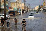 قلب خوزستان در آب