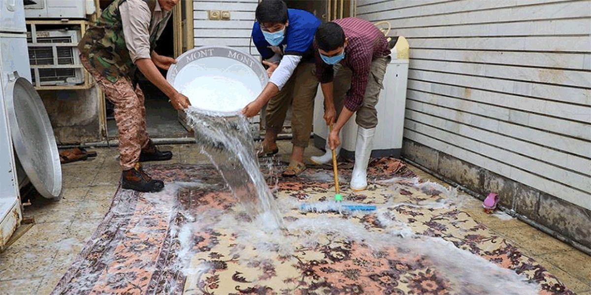 تصاویر: امداد رسانی گروههای جهادی به مردم اهواز