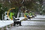 بارش برف و باران در ۱۲ استان