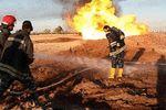 جزئیات آتشسوزی خط لوله انتقال نفت به اصفهان