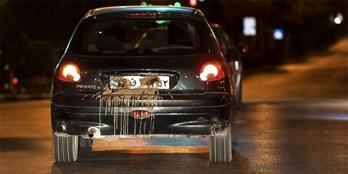 جریمه سنگین برای مخدوش کردن پلاک خودرو