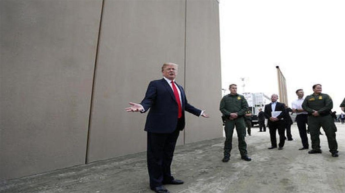 کنگره آمریکا بودجه ۱.۳۷ میلیارد دلاری دیوار مرزی را تصویب میکند
