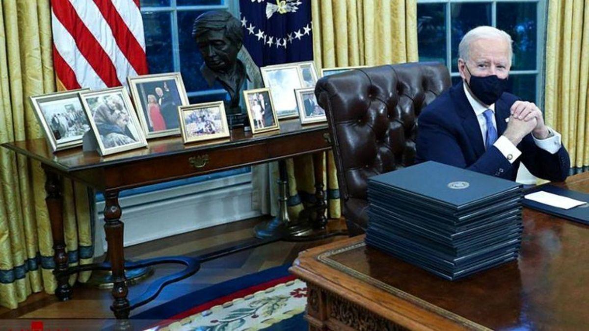 متن نامه ترامپ به بایدن محرمانه باقی میماند