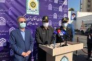 فیلم: توضیحات سردار رحیمی در خصوص جزئیات دستگیری عامل انتحاری در عوارضی تهران