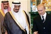ملک سلمان و پوتین درباره تحولات منطقه گفتگو کردند